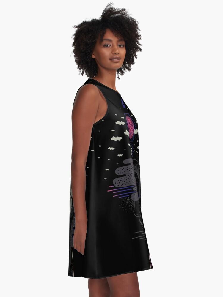 Alternate view of Hyper Dreamer A-Line Dress