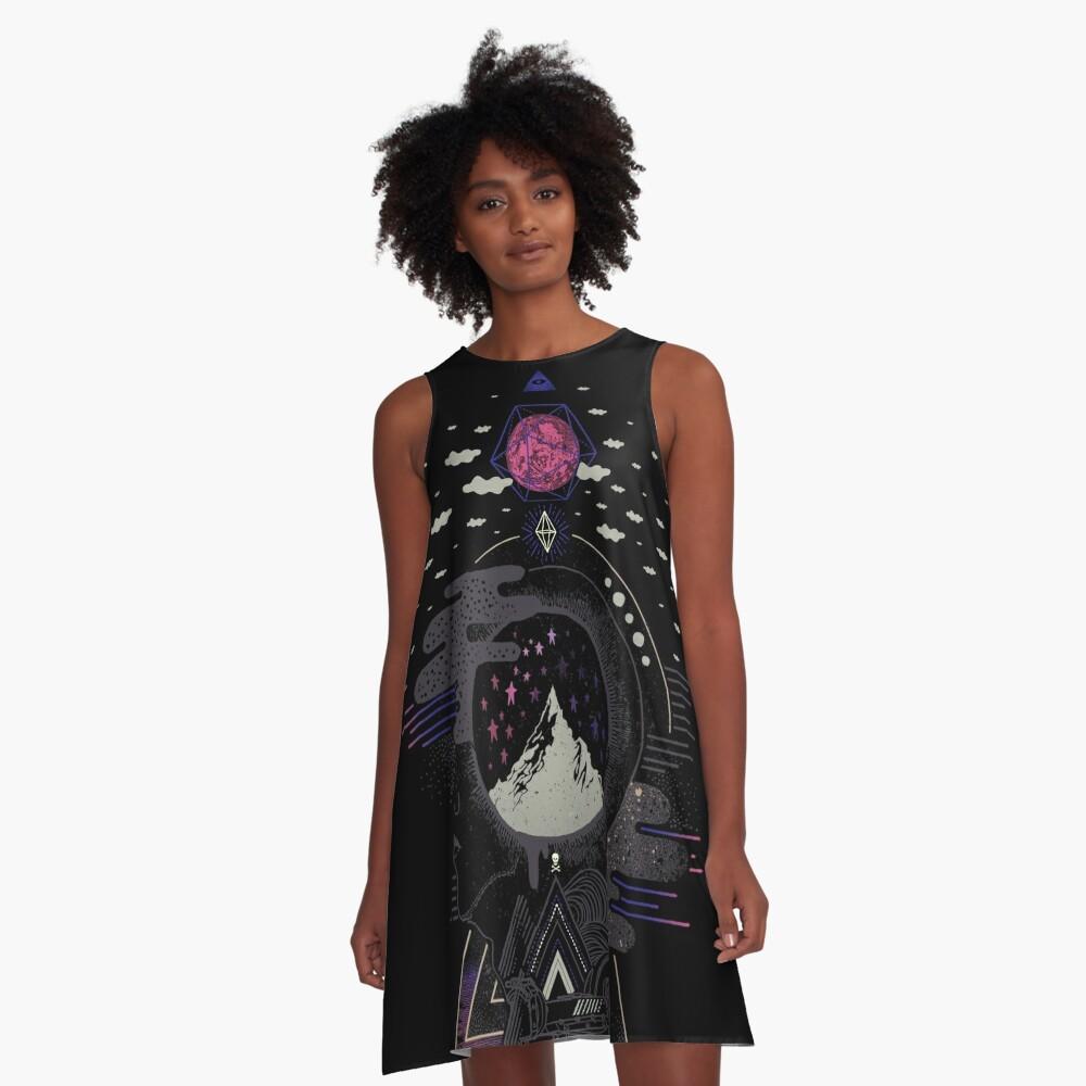Hyper Dreamer A-Line Dress