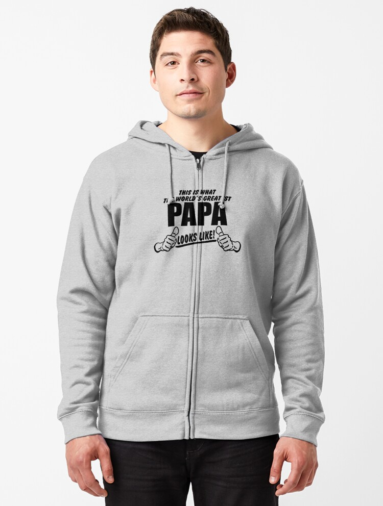 Mens Pullover Hoodie Fleece with Pockets This is What The Worlds Greatest Grandpa Looks Like