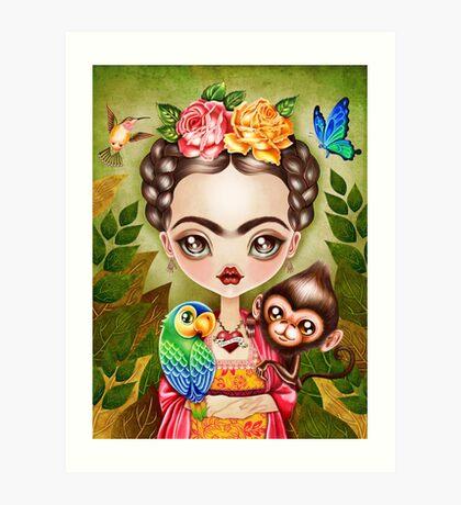 Frida Querida Art Print