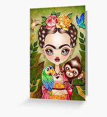 Frida Querida Greeting Card