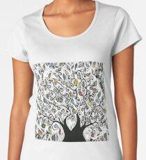 Colorful Apple Tree  Women's Premium T-Shirt
