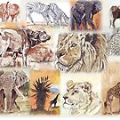 Lodge décor - South Africa's wildlife wonders by Maree Clarkson