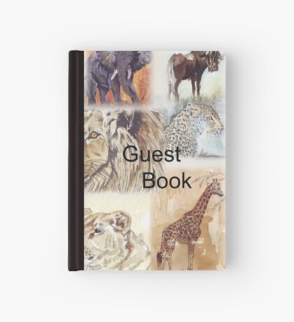 Lodge décor - South Africa's wildlife wonders Hardcover Journal