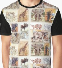 Lodge décor - South Africa's wildlife wonders Graphic T-Shirt