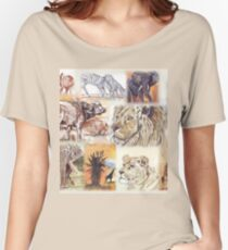 Lodge décor - South Africa's wildlife wonders Women's Relaxed Fit T-Shirt