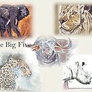 Lodge décor - The Big Five by Maree Clarkson