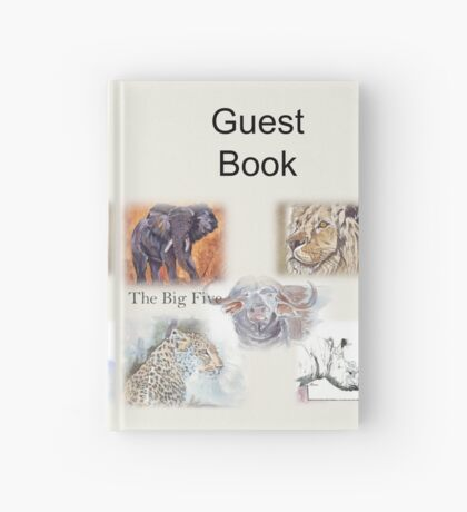 Lodge décor - The Big Five Hardcover Journal
