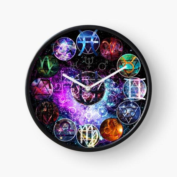 13 Zodiac Horloge