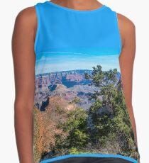 Blusa sin mangas Panorama en Bright Angel Trail en el Parque Nacional Grand Canyon