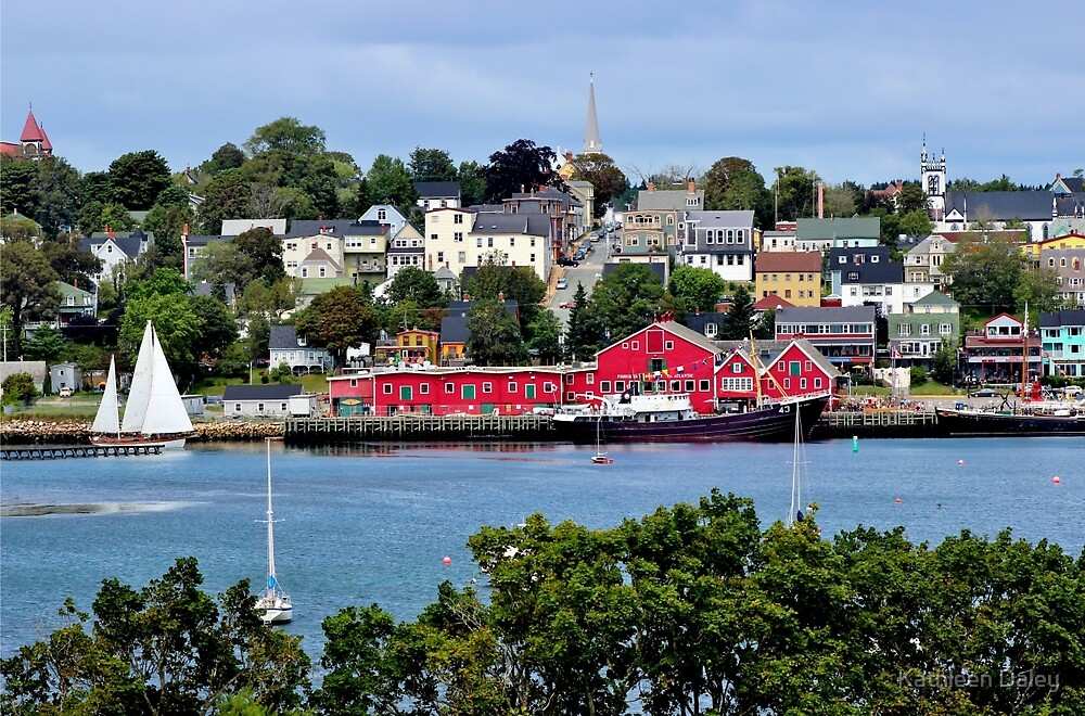 Summer in Lunenburg by Kathleen Daley