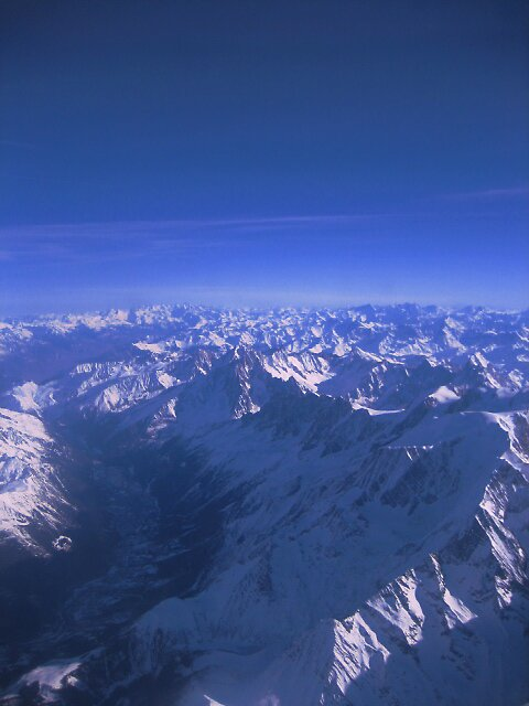 Plane pictures of Switzerland by Marichelle