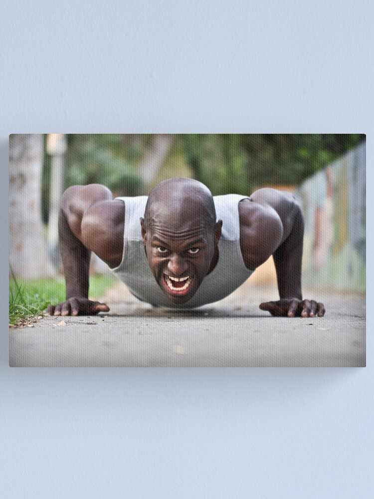 Alternate view of Strength of Character Canvas Print