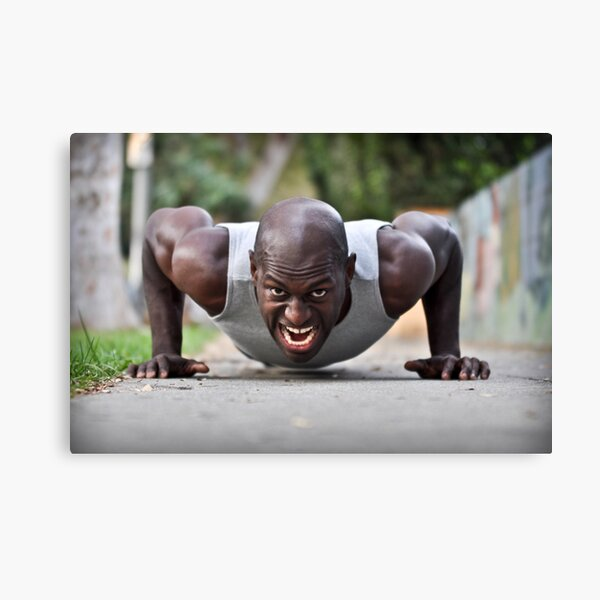 Strength of Character Canvas Print