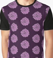 Pretty Rosey Pink Graphic T-Shirt