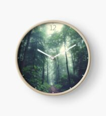 Forest Path Clock