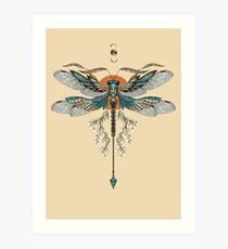 Dragon Fly Tattoo Art Print