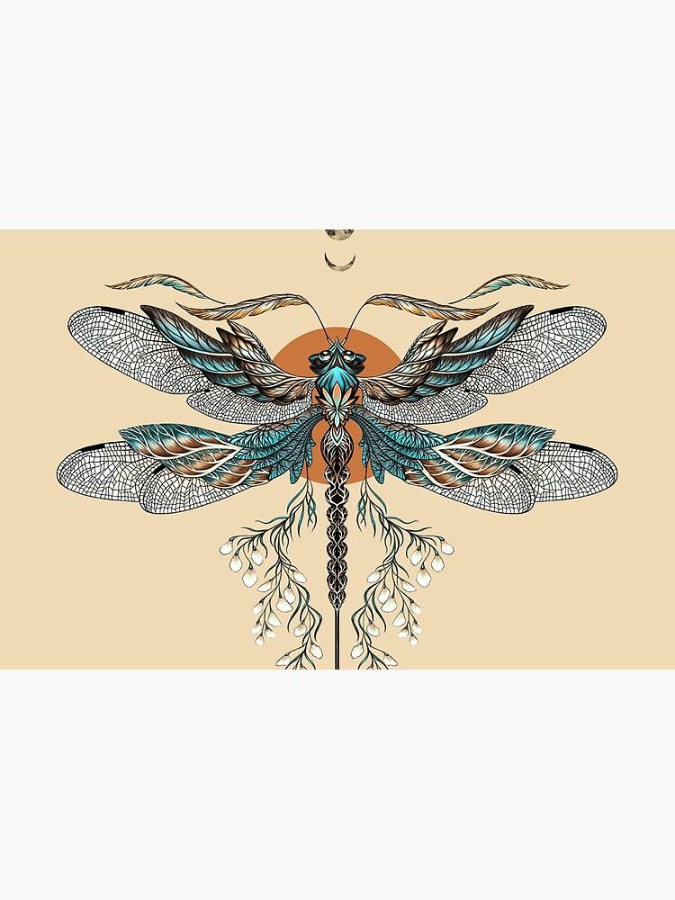Dragon Fly Tattoo by Ruta