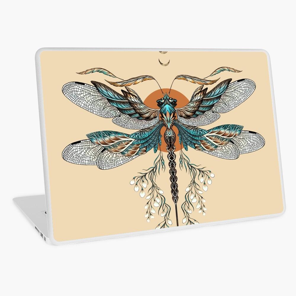 Dragon Fly Tattoo Laptop Skin