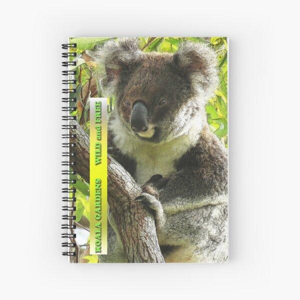 Greta - wild koala phone skin Spiral Notebook