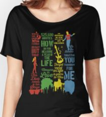 Rent Best Quotes Women's Relaxed Fit T-Shirt