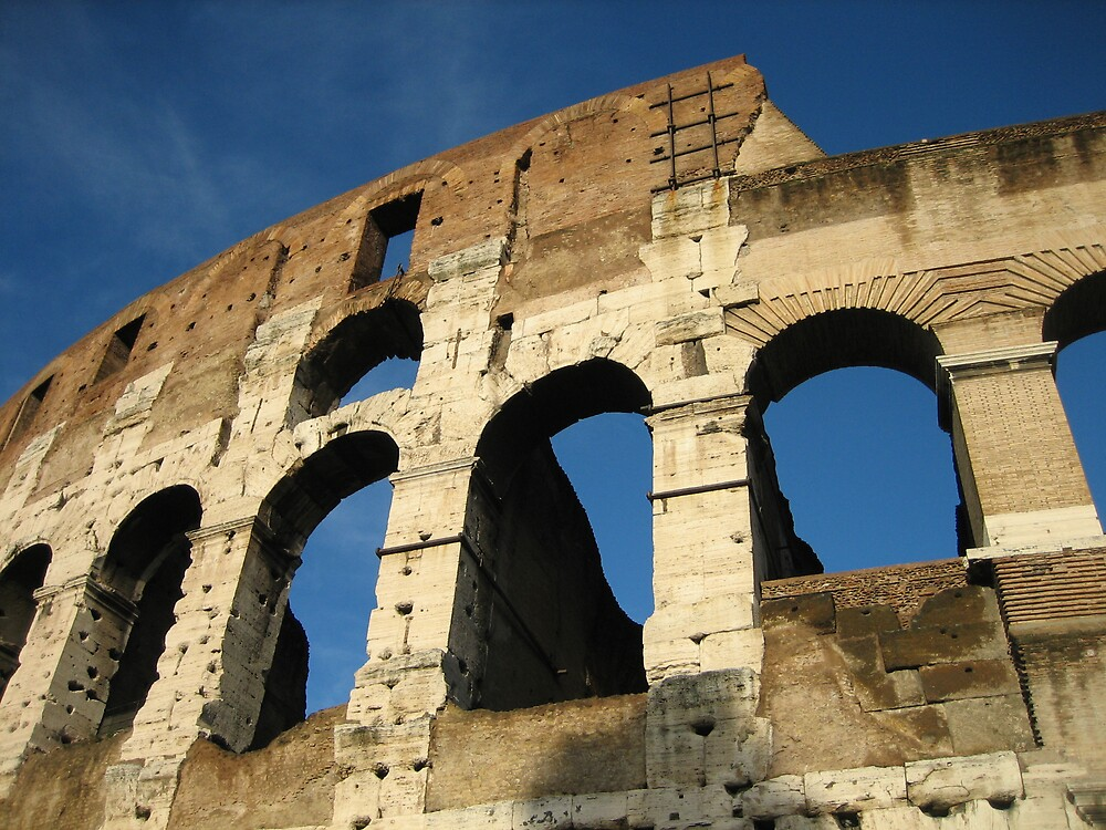 Colloseum in Rome 1 by Marichelle