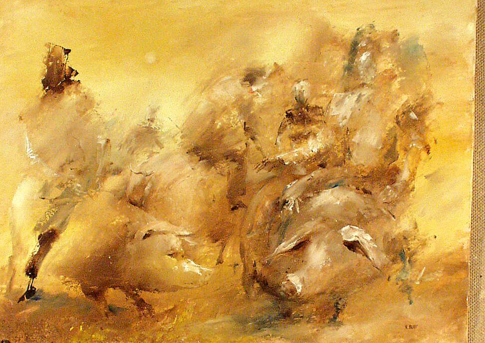 pig race by Valeriu Buev