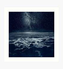der träumende Ozean Kunstdruck