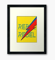 Rebel Rebel Framed Print
