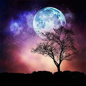 Moon Tree by DyrkWyst