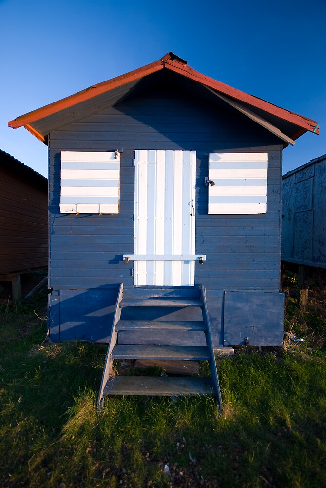 Beach Hut - Whitstable by Andrew Jackson