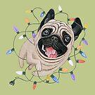 «Perro pug» de Ruta Dumalakaite