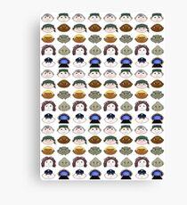 SG1 pattern Canvas Print
