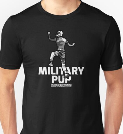 Military Pup T-Shirt