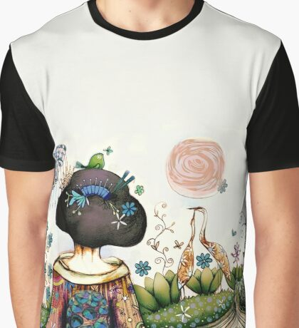 Topiary Teapot Graphic T-Shirt