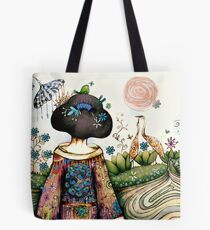 Topiary Teapot Tote Bag