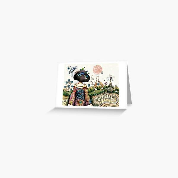 Topiary Teapot Greeting Card