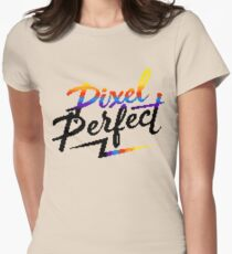 Pixel Perfect Womens Fitted T-Shirt