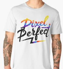 Pixel Perfect Men's Premium T-Shirt