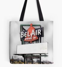bel air drive-in, route 66, illinois Tote Bag