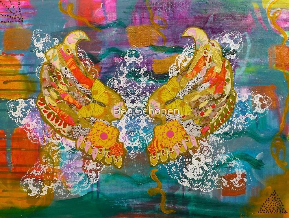Gilded Wings by Bec Schopen