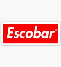 Pablo Escobar - Supreme Sticker