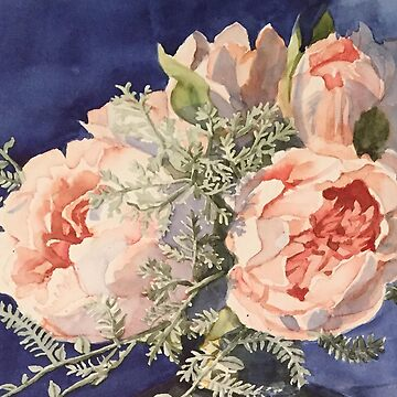 Blooming Peonies by Hillybobs