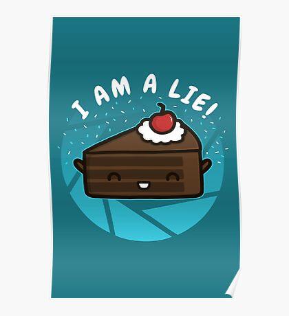I Am A Lie Poster