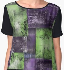 Squares Abstract Women's Chiffon Top