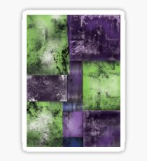 Squares Abstract Sticker