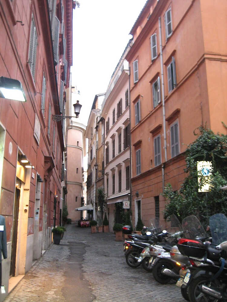The streets in Rome by Marichelle