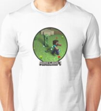 Minecraft Creeper Steve Unisex T-Shirt
