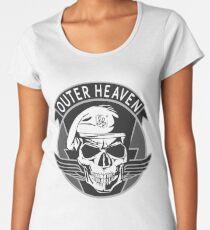 Outer Heaven - (MGSV) Women's Premium T-Shirt