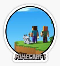 Minecraft Steve Sticker